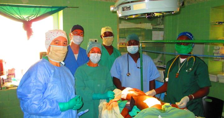 In sala operatoria