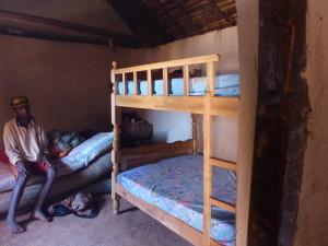 Il letto montato