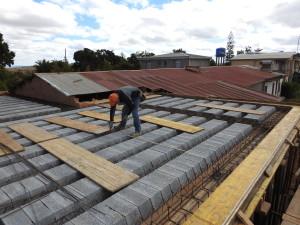 Lavoro sul tetto