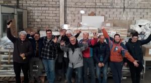 Il gruppo dei lavoratori