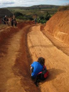 La situazione delle strade in Madagascar
