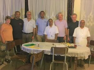 Il gruppo di lavoro per l'ospedale di Anivorano